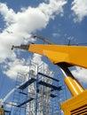 Crane boom Stock Image