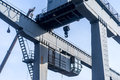 Crane in the dockyard Royalty Free Stock Photo