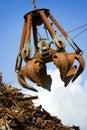 Crane grabber