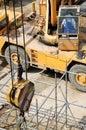Crane operator Stock Image