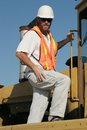 Crane operator Stock Photos
