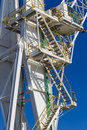 Crane Steps Canopy Stock Photography