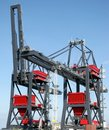 Crane transshipment Royalty Free Stock Photo