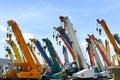 Crane truck Royalty Free Stock Photo