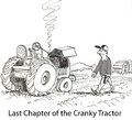 Cranky tractor Royalty Free Stock Photo