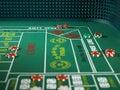 Craps Casino Game Stock Images