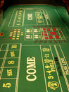 Craps table Royalty Free Stock Photography