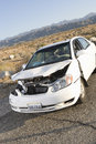 Crashed Car Stock Photos