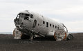 Image : Crashed plane
