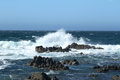 Crashing waves Royalty Free Stock Photo