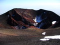 Crater of Etna Volcano Royalty Free Stock Image