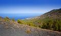 Crater La Palma San Antonio volcano Fuencaliente Stock Photos