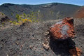 Crater La Palma San Antonio volcano Fuencaliente Stock Image