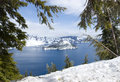 Crater Lake National Park Royalty Free Stock Photography