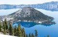 Crater Lake National Park, Oregon Royalty Free Stock Photo