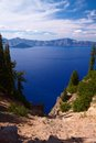 Crater lake national park oregon united states Stock Images