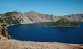 The Crater Lake Royalty Free Stock Photo