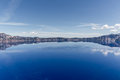 Crater lake view of oregon Stock Photography