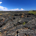Craters of the Moon Volcanic Landscape Stock Photos