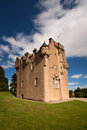 Crathes castle banchory aberdeenshire scotland near is a well preserved th century tower house built by the burnett family on land Stock Images
