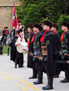 Cravat regiment zagreb croatia may the is a guard of honour and tourist attraction since the is performing a march in the Stock Photography