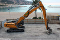 Crawler Excavator Royalty Free Stock Photo