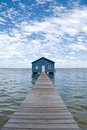 Crawley Edge Boatshed aka. Matilda Bay Boatshed Royalty Free Stock Photo
