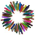 Crayon Frame Royalty Free Stock Images