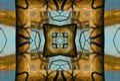 Crayon Kaleidoscope Royalty Free Stock Photo