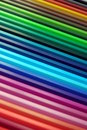Crayon rainbow Royalty Free Stock Photos