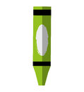 Crayon school supply isolated icon