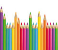 Crayons de couleur. Photos stock