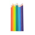 Crayons sharp color pencils are Stock Photography