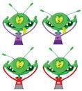 Crazy alien set