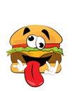 Crazy Burger cartoon