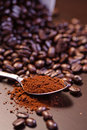 Crazy Coffee Bean Series 4 Royalty Free Stock Image