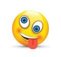 Crazy emoji