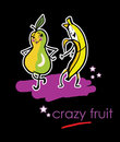 Crazy Fruits Royalty Free Stock Photography