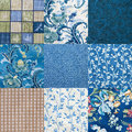 Crazy quilt Royalty Free Stock Photo