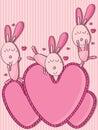 Crazy Rabbit Love Love