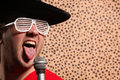 Crazy Rock And Roller Singer W...
