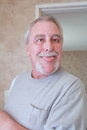 Crazy senior man Royalty Free Stock Photo