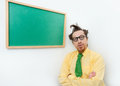 Crazy teacher Royalty Free Stock Photos
