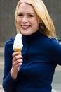 Cream ice Στοκ Φωτογραφίες