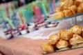 Cream puffs Royalty Free Stock Photo