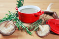 Creamy Mushroom Soup Royalty Free Stock Photos