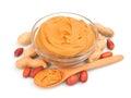 Creamy peanut butter Royalty Free Stock Photo