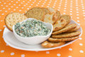 Creamy Spinach Dip Royalty Free Stock Image