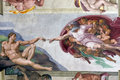 Creation of Adam Royalty Free Stock Photo