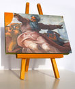 Creation of the stars and plants painting by michelangelo Stock Photography